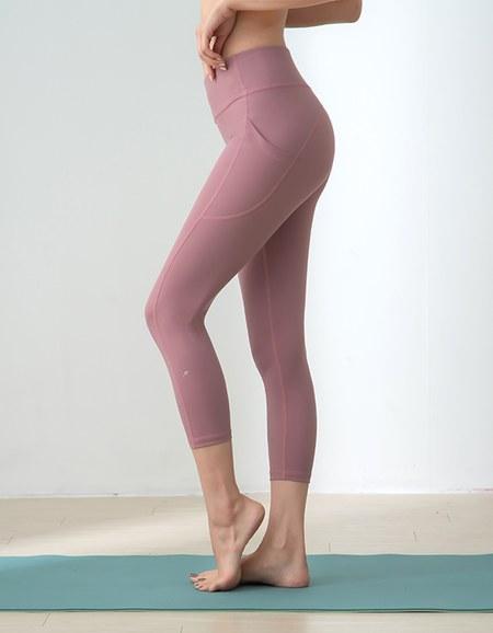 提臀美型瑜珈健身纖女褲