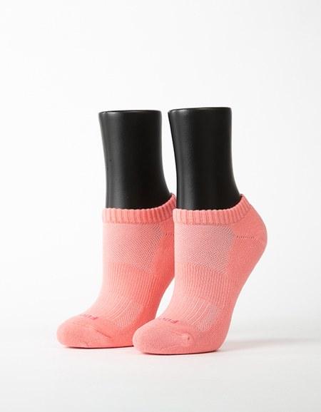 素色美學氣墊船短襪