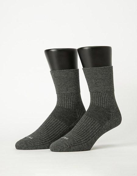 紳士素面寬口襪