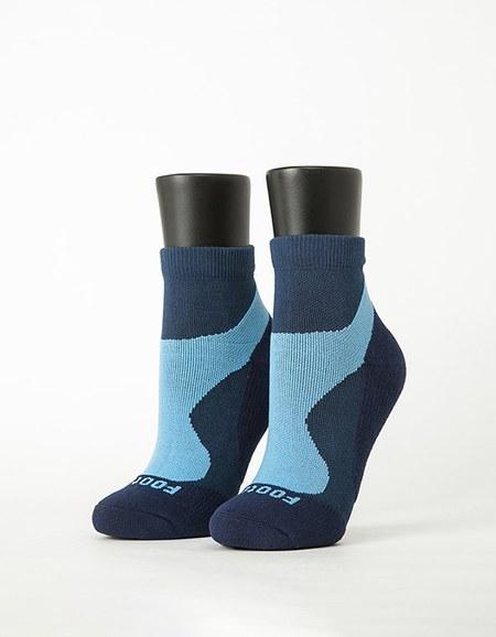 輕壓力流線型氣墊襪