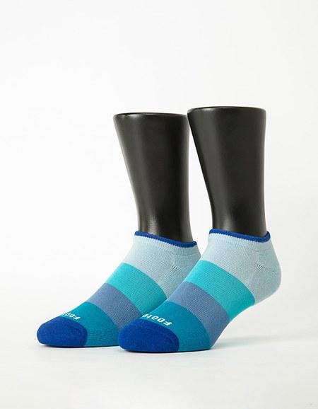 特-漸層果凍微分子船短襪