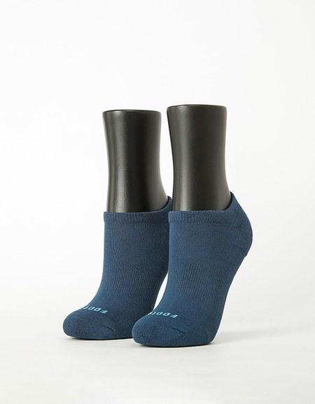 微分子氣墊單色船型薄襪