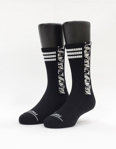 歐北共運動氣墊襪