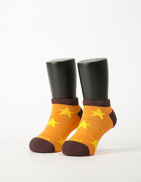 潮流星星船短襪